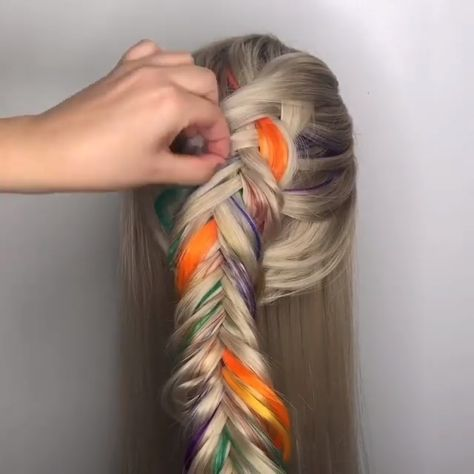 Prettiest Braided Hair Style Ideas For Summer Brides!Hair braids are one of the most popular trends of this year.