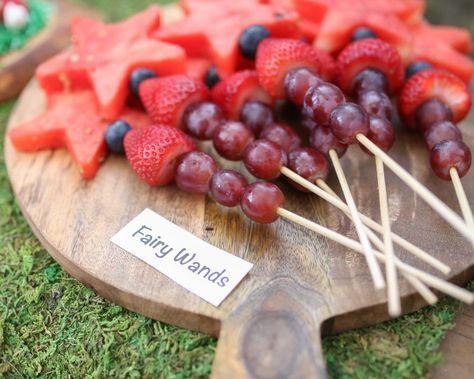 Fairy Garden Tea Party Food