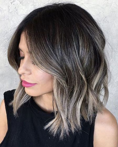 Ombre Hairstyles For Medium Length Hair Trends 2018 Summer