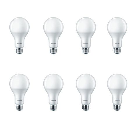 100 Watt Equivalent A21 Led Light Bulb Daylight 8 Pack Led