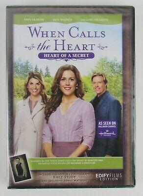Www.Ebay.Com  When Calls The Heart 2020 Christmas Dvd S When Calls The Heart   Heart Of A Secret   DVD (Season 4: Movie 6