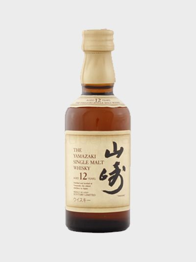 Suntory Yamazaki 12 Year Old Miniature Japanese Whisky Whisky Malt Whisky