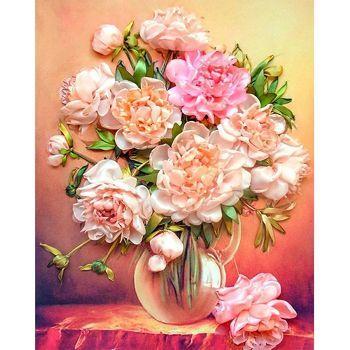 Flower Bouquet Full Drill 5D Diamond Painting DIY Cross Stitch Home Decor Art