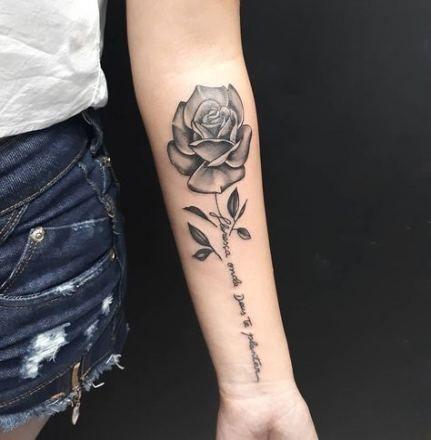 15 Ideas Tattoo Small Rose Men Arm Tattoos For Guys Hand Tattoos For Guys Rose Tattoo On Arm