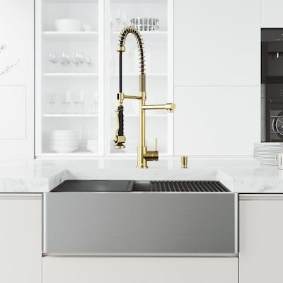 Kitchen Sinks At Lowes Com Farmhouse Sink Kitchen Sink Stainless Steel Kitchen Sink