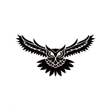Owl Logo Vector Illustration Emblem Design On White Owl Logo Owl Images Vector Illustration