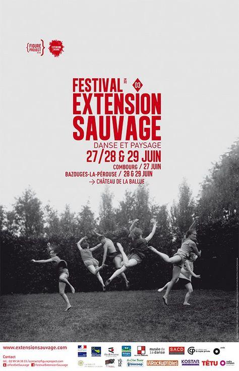 Festival Extension Sauvage 2014, Danse et Paysage, Combourg & Bazouges-la-Pérouse
