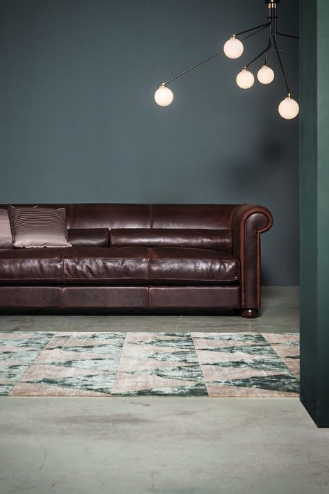 Rivestimenti Divani In Pelle.Sofa Alfred Design Marco Milisich Old England Leather Upholstery