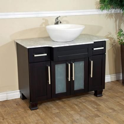 604023 Collection 604023c 40 Single Sink Vanity With 2 Drawers 4