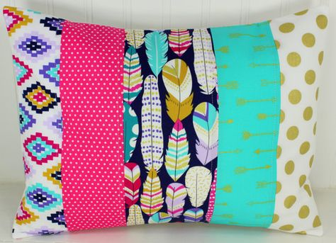 Patchwork Pillow Cover 16 x 16