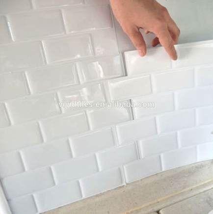 35 Ideas Waterproof Wallpaper Bathroom Products Vinyl Wall Tiles Bathroom Tile Stickers Self Adhesive Wall Tiles