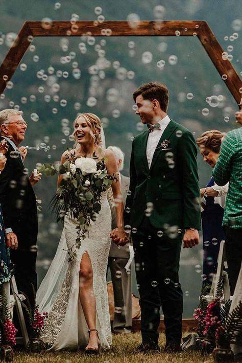 Wedding Photos With Bubbles Love Wedding