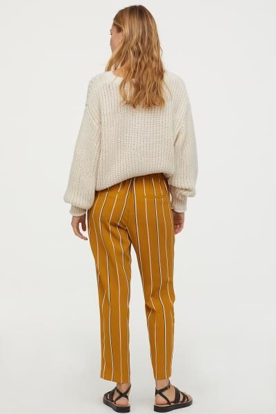 f6837255b62c H&M Pull-on Pants - Beige in 2019 | Clothes and shit | Pants, Pull ...