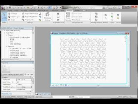 Create Custom Hatch Patterns In Revit Fc3bim With Images