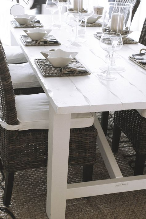 Ocean House Dining Table Edward 220x100 Weiss 1699 00 Eur