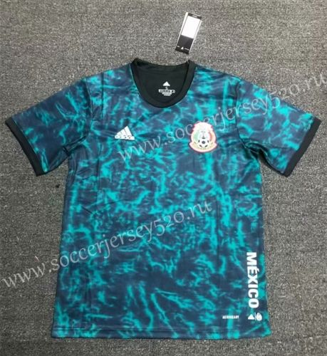 2020 2021 Mexico Home Black Green Thailand Soccer Jersey Aaa 407 In 2020