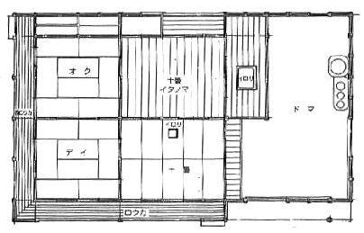 旧野口家住宅平面図 Blueprints Floor Plans Inspiration
