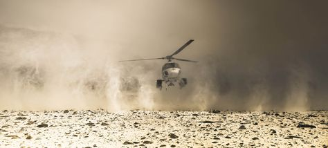Hef, our chopper pilot, comes to pick us up from a remote camp - photo from #treyratcliff Trey Ratcliff at http://www.StuckInCustoms.com