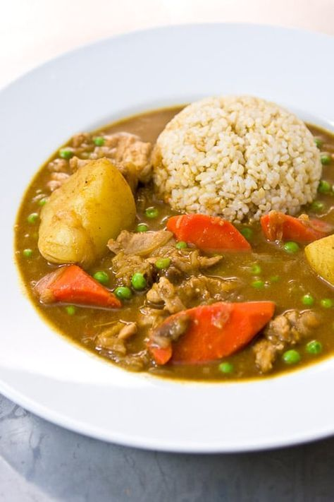 Japanese Curry Rice Recipe Japanese Recipes Japanese Curry Gluten Free Japanese Curry Curry Recipes