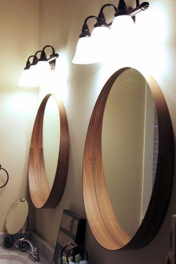 20+ Glace ronde pour salle de bain inspirations