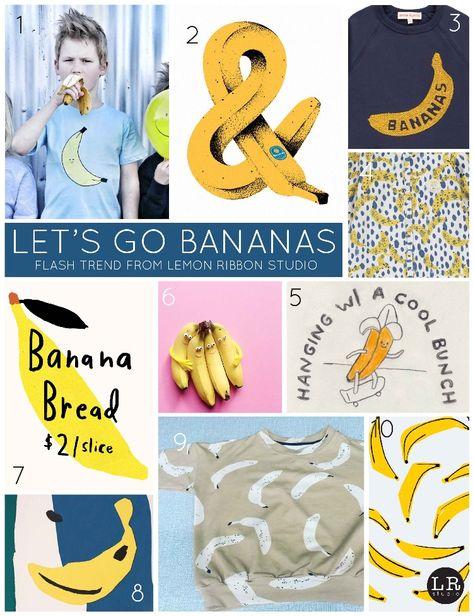 Let's Go Bananas - Lemon Ribbon Studio