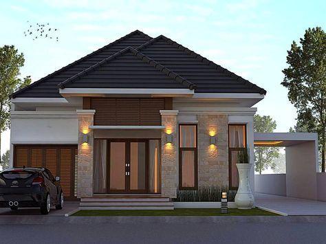 Gambar Teras Rumah Kampung Sederhana  desain rumah minimalis terbaru dengan model teras batu alam