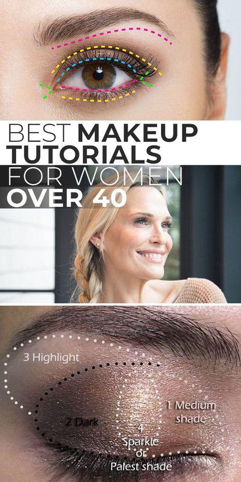 Best Makeup Tutorials For Women Over 40!