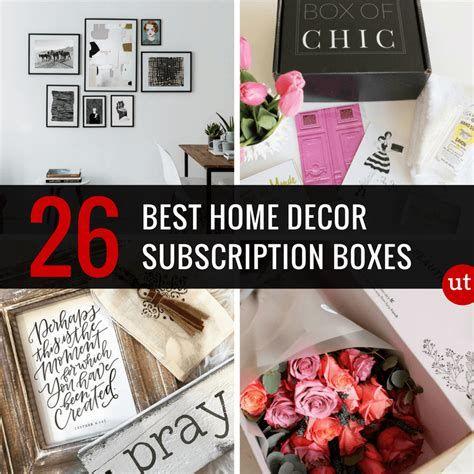 Best Home Decor Subscription Boxes Home Decor Boxes Art Box Subscription Gift Subscription Boxes