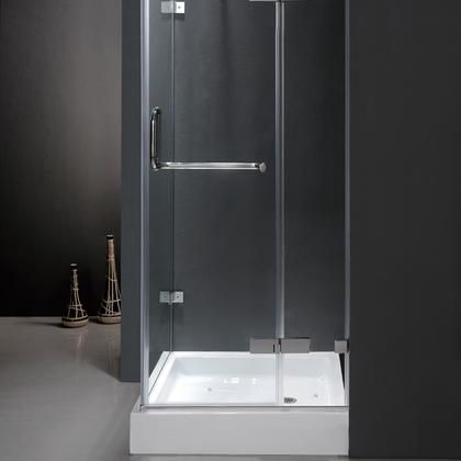 Vg6011chcl363 36 X 36 Corner Shower Enclosure With Frameless