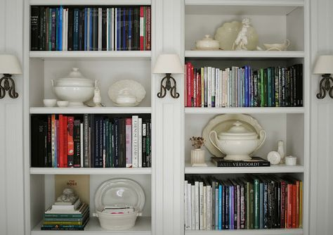 well styled shelves from Tone on Tone
