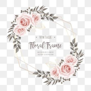 Vintage Floral Png Images Vector And Psd Files Free Download On Pngtree In 2020 Watercolor Flowers Watercolor Flowers Pattern Floral Wreaths Illustration