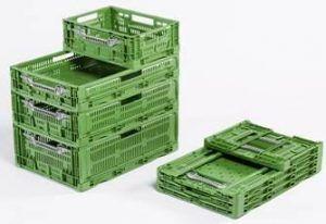 Bacs Pliables Plastiques Verts Bac Plastique