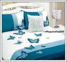 Color Butterfly Doona Quilt Duvet Cover Set Single//Double//Queen//King Bed Linen