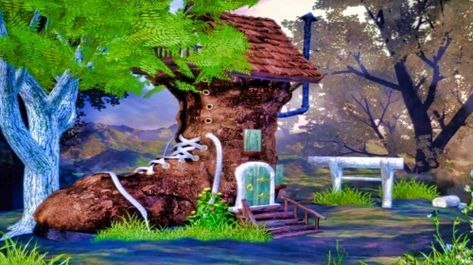 Shoe House In The Woods Free Jigsaw Puzzles Free Jigsaw