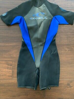 Details About Oneill Shortsleeved Shorty Wetsuit Size 10 In 2020 Spring Suit Surf Wetsuit Spring Suit