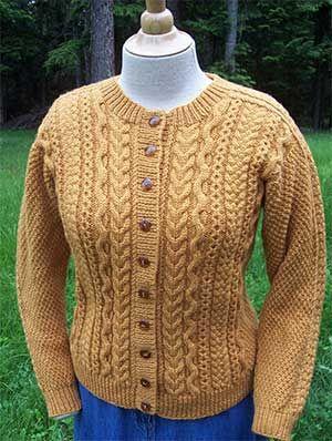 Dk knitting pattern JB212 lady or man/'s sweater in Aran weight