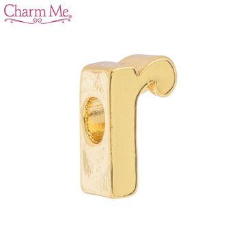 14k Gold Plated Cursive Letter Charm R Letter Charms Cursive Letters Lettering