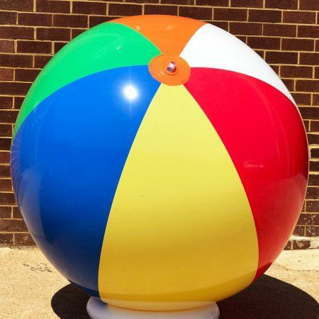 Jet Creations, 72 inch Giant Beachball, Multicolor