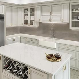 Lg Hi Macs Ice Queen Solid Surface Kitchen Countertop Sample At