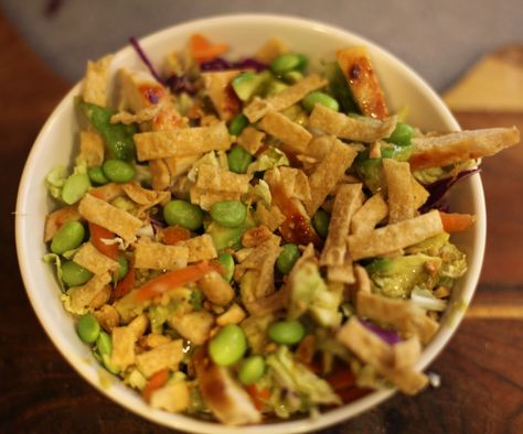 California Pizza Kitchen CPK Thai Crunch Salad     Copycat recipe.  SOOOO good.    Rachel, Domesticated.: Thai Crunch Copy Cat Recipe You Will Thank Me For
