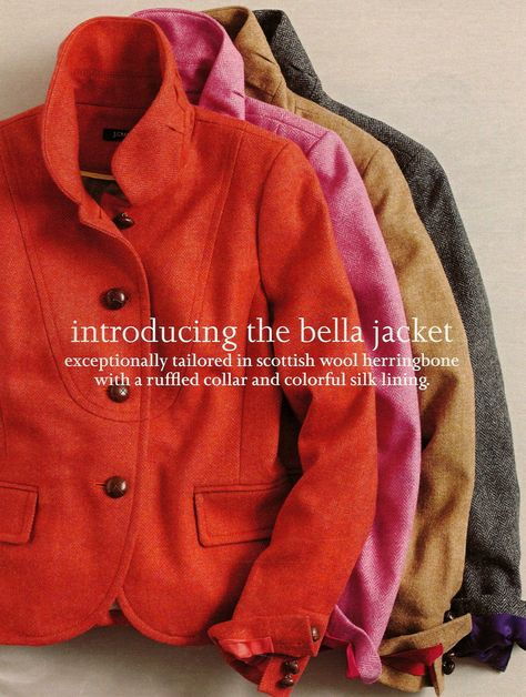 J. Crew the Bella jacket...good lord I cant wait for the fall/winter