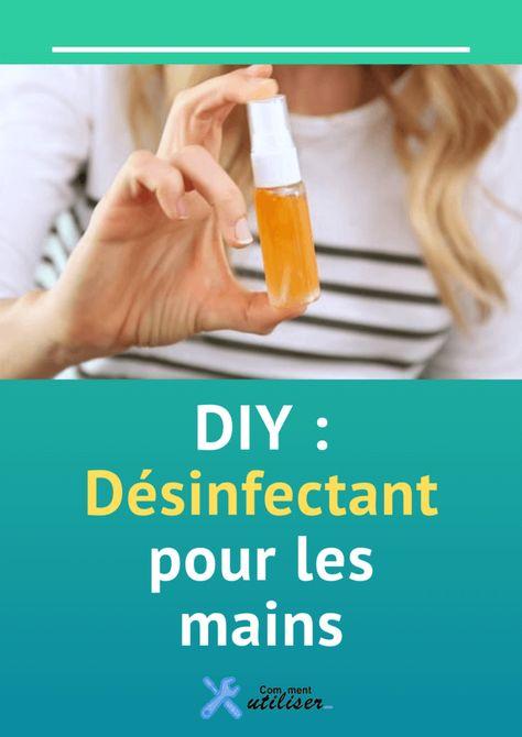 Diy Desinfectant Pour Les Mains En 2020 Desinfectant Naturel