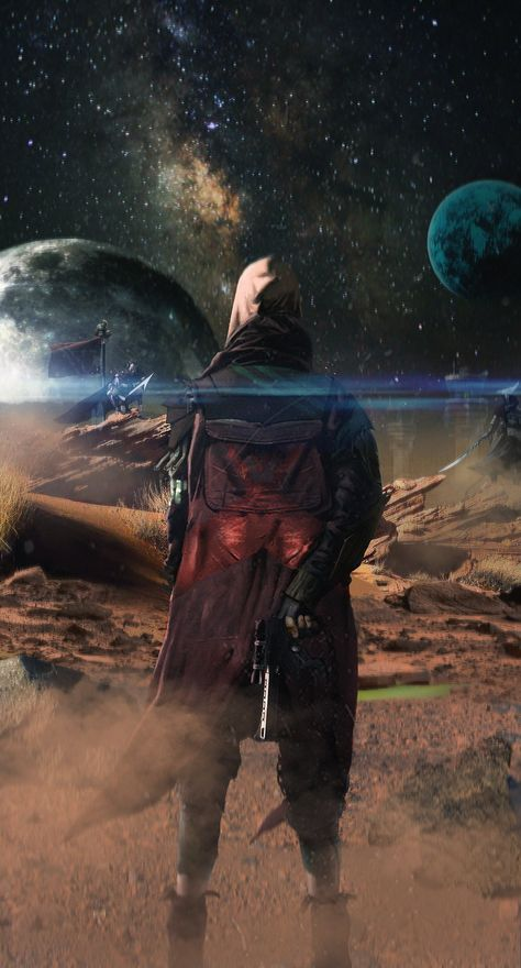 """""""mars by jarrett kelly"""" - DESTINY is a fantastic game. Took me a bit to get into it but now I can safely say I am enthralled by it. Great gameplay, amazing design and graphics with a good strong story. Chang heaven!"""