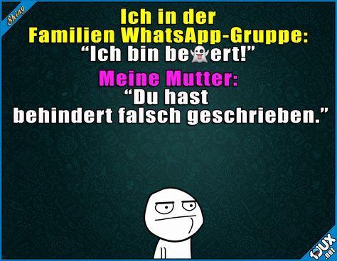 Na danke, Mama x.x #gemein #Mutterliebe #nurSpaß #Sprüche #lustigeMemes #Statussprüche #WhatsAppStatus Humor