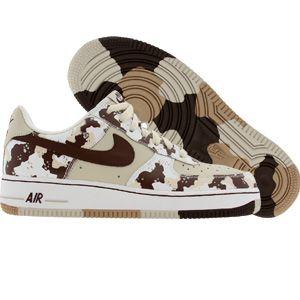 Nike Air Force 1 Low Premium Camouflage Edition (birch / lt chocolate /  bone /