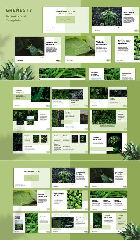 Presentation Design Template – Grenesty