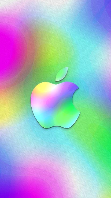 Wallpaper MacBook Apple Colorful Dark background K Technology