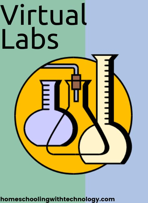 Learn where to find resources to do chemistry and biology labs online - virtual labs make it easy to study science at home. High School Chemistry, High School Biology, Teaching Chemistry, Chemistry Labs, Ap Biology, Science Biology, Middle School Science, Science Labs, Biology Teacher