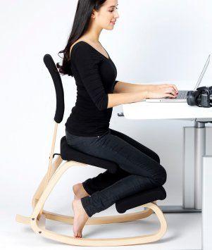 Wv Leisuremaster Chaise Ergonomique A Genoux Tabouret A Genoux Posture Grande Chaise De Bureau A Domicile Ou De Bureau Siege Plus Large Coussins Au Genou