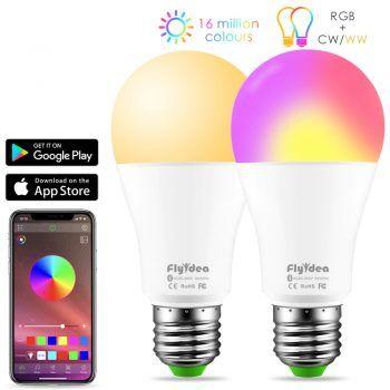 E27 Bulb Smart Rgb Led Light With Speaker Smart Bulb